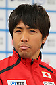 Yuichi Hosoda (JPN), June, 2012 - Triathlon : Japanese Triathlon  team member ateend press conference about the London 2012 Summer Olympic Games in Tokyo, Japan. (Photo by Yusuke Nakanishi/AFLO SPORT) [1090]