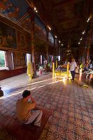 Phnom Penh, Cambodia. Wat Phnom.