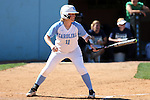 24 April 2016: North Carolina's Katie Bailiff. The University of North Carolina Tar Heels hosted the University of Notre Dame Fighting Irish at Anderson Stadium in Chapel Hill, North Carolina in a 2016 NCAA Division I softball game. UNC won game 1 of the doubleheader 7-4.