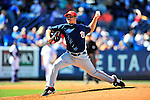 7 March 2010: Washington Nationals' pitcher Matt Chico on the mound during a Spring Training game against the New York Mets at Tradition Field in Port St. Lucie, Florida. The Mets edged out the Nationals 6-5 in Grapefruit League pre-season play. Mandatory Credit: Ed Wolfstein Photo