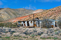Abandoned House, Aerospace Highway, Midland Trail, Mojove Desert, En Route to Death Valley NP