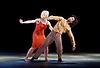Transfigured Night<br /> Choreography by Kim Brandstrup<br /> at Sadler&rsquo;s Wells, London, Great Britain <br /> press photocall / rehearsal <br /> 3rd November 2015 <br /> <br /> Music by Arnold Schoenberg - Verkl&auml;rte Nacht<br /> Designed by Chloe Lamford<br /> Lighting design by Fabiana Piccioli<br /> <br /> Dancers: Miguel Altunaga &amp; Simone Damberg W&uuml;rtz<br /> <br /> <br /> <br /> Image licensed to Elliott Franks Photography Services