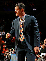 CHARLOTTESVILLE, VA- DECEMBER 6: Head coach Tony Bennett of the Virginia Cavaliers watches a play during the game on December 6, 2011 against the George Mason Patriots at the John Paul Jones Arena in Charlottesville, Virginia. Virginia defeated George Mason 68-48. (Photo by Andrew Shurtleff/Getty Images) *** Local Caption *** Tony Bennett