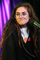 BALA CYNWYD, PA - NOVEMBER 10 :  Maggie Lindemann visits Q102 performance studio in Bala Cynwyd, Pa on November 10, 2016  photo credit Star Shooter/MediaPunch