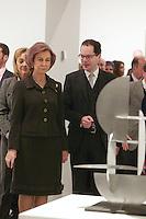 Spain's queen Sofia opens art exposition