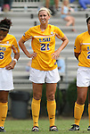 20 September 2009: LSU's Katherine Lagow. The Duke University Blue Devils played the Louisiana State University Tigers to a 2-2 tie after overtime at Koskinen Stadium in Durham, North Carolina in an NCAA Division I Women's college soccer game.