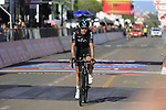 Philip Deignan (IRL) crosses the finish line in Tortoli at the end of Stage 2 of the 100th edition of the Giro d'Italia 2017, running 221km from Olbia to Tortoli, Sardinia, Italy. 6th May 2017.<br /> Picture: Eoin Clarke | Cyclefile<br /> <br /> <br /> All photos usage must carry mandatory copyright credit (&copy; Cyclefile | Eoin Clarke)