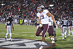 Ole Miss vs. Texas A&amp;M tight end Michael Lamothe (19) celebrates a win at Vaught-Hemingway Stadium in Oxford, Miss. on Saturday, October 6, 2012. Texas A&amp;M rallied from a 27-17 4th quarter deficit to win 30-27.