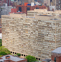 Kips Bay Plaza, Designed by Pei, Cobb, Fried, East 30th to East 33rd Streets. New York City, New York