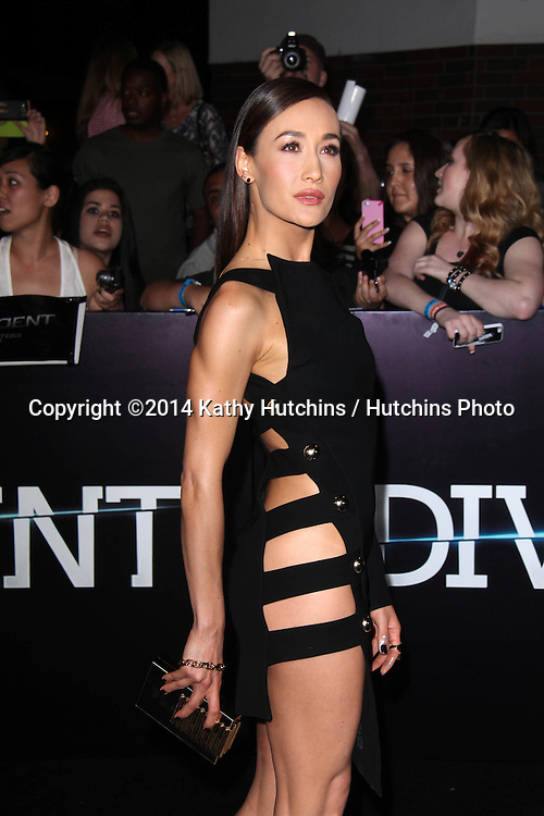 "LOS ANGELES - MAR 18:  Maggie Q at the ""Divergent"" Los Angeles Premiere at Bruin Theater on March 18, 2014 in Westwood, CA"