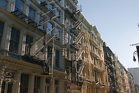 New York City, NY, Soho, Cast Iron, Green Street