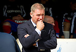St Johnstone v Rangers... 30.07.11   SPL Week 2.Ally McCoist in thoughtful mood.Picture by Graeme Hart..Copyright Perthshire Picture Agency.Tel: 01738 623350  Mobile: 07990 594431