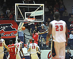 "Mississippi vs. Rutgers' Dane Miller (2) at the C.M. ""Tad"" Smith Coliseum in Oxford, Miss. on Saturday, December 1, 2012. (AP Photo/Oxford Eagle, Bruce Newman).."