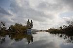 A Delta houseboat, December 14, 2009.