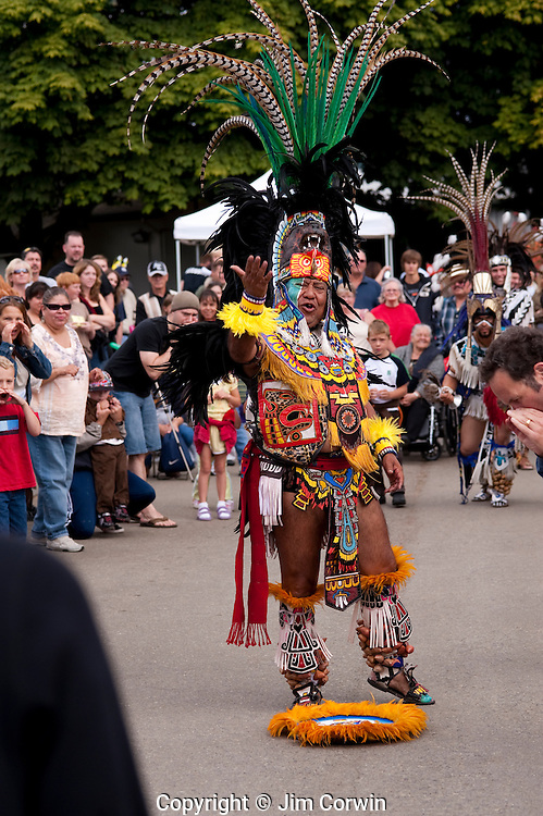 Aztec Indian Dancers Evergreen State Fair
