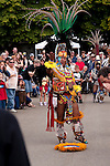 Aztec Indian Dancers Evergreen State Fair
