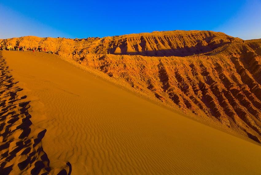 Sand dunes, Moon Valley (Valle de la Luna), Atacama Desert, Chile