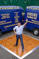 Gary Gibbs of Portable Floormaker Ltd