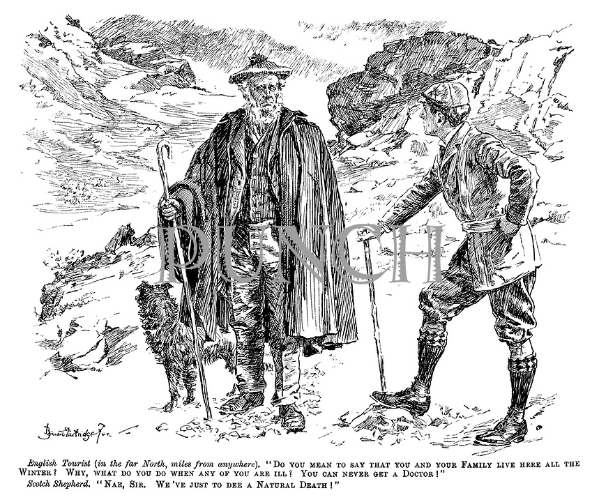 Scotland Cartoons - Images | PUNCH Magazine Cartoon Archive