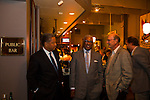 Highlands Restaurant in the Five Points South neighborhood of Birmingham, Alabama. Pictured here is the bar area at Highlands Restaurant with Birmingham Mayor William A Bell and his outside legal counsel, Michael Choy