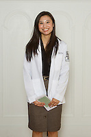 Christine Tran. White Coat Ceremony, class of 2016.