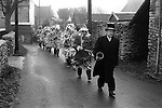 Marshfield Mummers, Boxing Day. Marshfield, Gloucestershire, England 1973