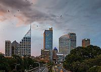 Downtown Architecture & Landmarks, Sydney, Australia