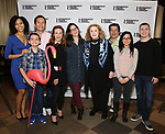 Nedra McClyde, Luca Padovan, Carman Lacivita, Lili Taylor, Anne Kauffman, Celia Weston, Triney Sandoval, Janeane Garofalo and Jack DiFalco attend the cast photo call for the Roundabout Theatre Company's production of 'Marvin's Room'  at American Airlines Theatre on May 11, 2017 in New York City.