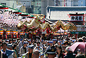 Golden Dragon Dance in Asakusa