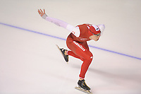 SPEEDSKATING: CALGARY: Olympic Oval, 25-02-2017, ISU World Sprint Championships, 1000m Men, Sebastian Klosinski (POL), ©photo Martin de Jong