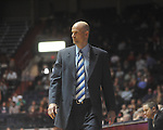 Ole Miss head coach Andy Kennedy reacts against Georgia at the C.M. &quot;Tad&quot; Smith Coliseum in Oxford, Miss. on Saturday, January 15, 2011. Georgia won 98-76.  (AP Photo/Oxford Eagle, Bruce Newman)