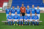 St Johnstone FC Academy U14's<br /> Back row from left, Kyle Woolley, Jordan Walker, Ben Fraser, Ross Sinclair, Jack Simpson, Gregorr Donald and Ross MacFarlane.<br /> Front row from left, Mark Walker, David McCrory, Oliver Hamilton, Duncan McPhee, Craig Tosh and Aaron Carlan.<br /> Picture by Graeme Hart.<br /> Copyright Perthshire Picture Agency<br /> Tel: 01738 623350  Mobile: 07990 594431