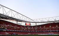 FUSSBALL  CHAMPIONS LEAGUE  ACHTELFINALE  HINSPIEL  2012/2013      FC Arsenal London - FC Bayern Muenchen       19.02.2013 Innenansicht Emirates Stadium London