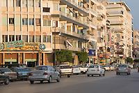 Benghazi, Libya, North Africa -- Gamal Abdul Nasser Street.