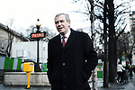 PARIS, FRANCE. DECEMBER 9, 2011. Belgium's former Prime Minister Yves Leterme, now the Deputy Secretary-General of the OECD, around the Trocadero place. Photo: Antoine Doyen