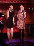 Padgett & Davie preview '54 Below sings Side Show'