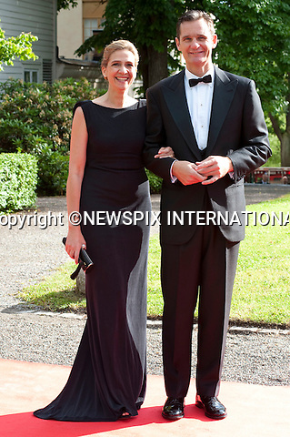 "INFANTA DONA CRISTINA and DON INAKI URDANGARIN.Pre-Wedding Dinner hosted by the Government of Sweden in honour of H.R.H Crown Princess Victoria and Mr Daniel Westling at Eric Ericsonhallen was attended by Royalty from all over the world. Stockholm_18/06/2010..Mandatory Photo Credit: ©Dias/Newspix International..**ALL FEES PAYABLE TO: ""NEWSPIX INTERNATIONAL""**..PHOTO CREDIT MANDATORY!!: NEWSPIX INTERNATIONAL(Failure to credit will incur a surcharge of 100% of reproduction fees)..IMMEDIATE CONFIRMATION OF USAGE REQUIRED:.Newspix International, 31 Chinnery Hill, Bishop's Stortford, ENGLAND CM23 3PS.Tel:+441279 324672  ; Fax: +441279656877.Mobile:  0777568 1153.e-mail: info@newspixinternational.co.uk"