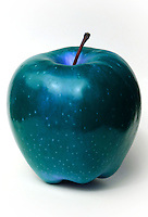 Modificazione genetica di una mela Genetic modification of apple...