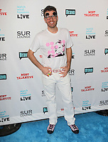 Perez Hilton.Bravo's Andy Cohen's Book Release Party For &quot;Most Talkative: Stories From The Front Lines Of Pop Held at SUR Lounge, West Hollywood, California, USA..May 14th, 2012.full length pink black white print top trousers sunglasses shades .CAP/ADM/KB.&copy;Kevan Brooks/AdMedia/Capital Pictures.