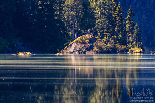 Streaks of Pollen, Lake Dorothy, Alpine Lakes Wilderness, Washington