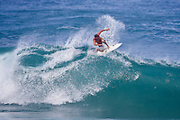 Andy Irons (HAW) surfing at Kammies on the North Shore, Haleiwa, Oahu, Hawaii..Photo: Joliphotos.com