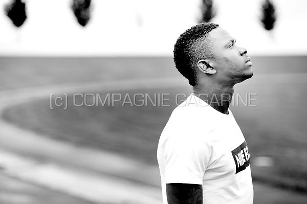 Ivorian football player Gohi Bi Zoro Cyriac (Belgium, 15/07/2015)
