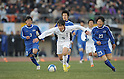 Syoki Kanehira (Yokkaichi Chuo Kogyo), JANUARY 9, 2012 - Football /Soccer : 90th All Japan High School Soccer Tournament final between Ichiritsu Funabashi 2-1 Yokkaichi Chuo Kogyo at National Stadium, Tokyo, Japan. (Photo by Atsushi Tomura/AFLO SPORT) [1035]