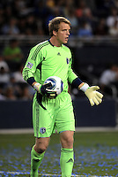 Eric Kronberg, Sporting KC...Sporting KC and Chicago Fire played to a scoreless tie in the inaugural game at LIVESTRONG Sporting Park, Kansas City, Kansas.