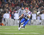 Ole Miss vs. Louisiana Tech's David Cru (85) in Oxford, Miss. on Saturday, November 12, 2011.