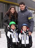 Louis de Bourbon and family enjoy the holidays in Saint-Moritz - Switzerland