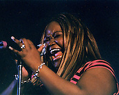 Shemekia Copeland sings the blues at Northern Michigan University in Marquette Michigan.