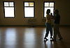"Paul and Cathy Wooster, from Estero, practice their dancing moves at Estero Community Park Tuesday morning. Inspired by Cathy's brother and his wife, she says who are beautiful dancers the Wooster's tired of sitting on the sidelines took up dancing two years ago. They started practicing at the community center out of necessity Cathy said their living room was a little cramped. When asked why they like dancing Paul responded ""Any excuse to hold my wife is a good one.  Erik Kellar/Staff"
