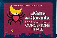Notte della Taranta 2011 - Allestimento