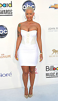 LAS VEGAS - MAY 20:  Amber Rose arrives at the 2012 Billboard Awards at MGM Garden Arena on May 20, 2012 in Las Vegas, NV